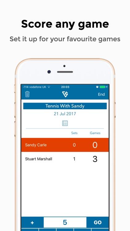 Versus: Advanced Scorekeeper screenshot-3