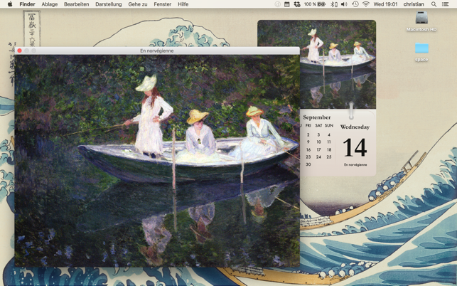 Calarty Claude Monet Screenshot
