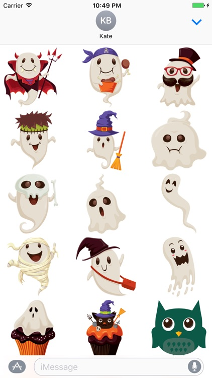 Crazy Halloween Sticker for iMessage #13