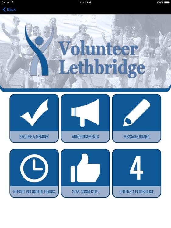 Volunteer Leth. Agency Connect HD screenshot-4