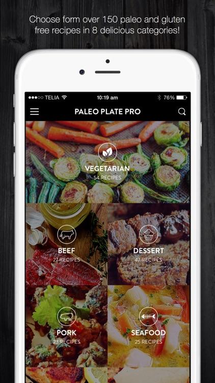 Paleo Plate Pro - caveman diet recipes