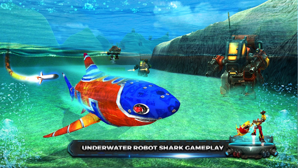 Shark Robot Transform war Hero Cheat Codes