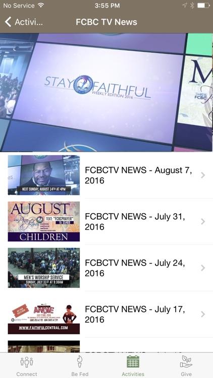 Faithful Central Bible Church screenshot-4