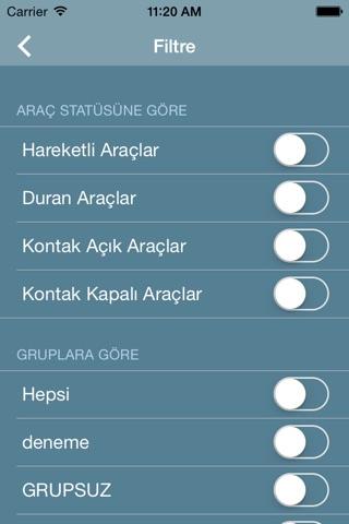Screenshot of Karel Takip