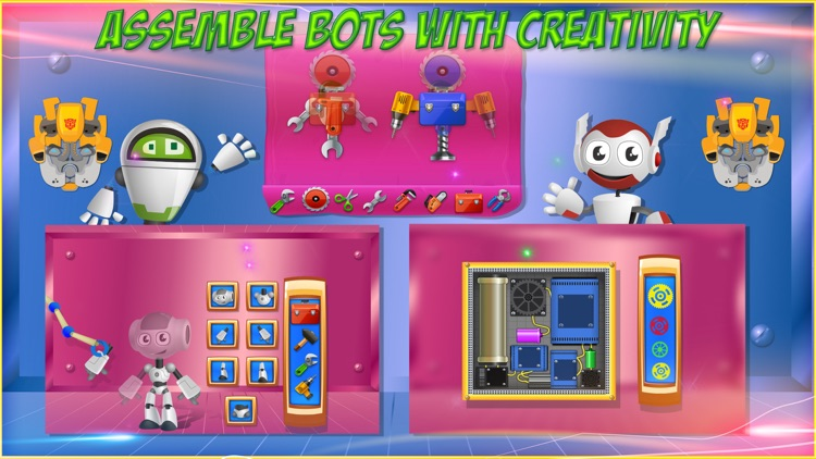 Build a Robot - Crazy builder game for kids