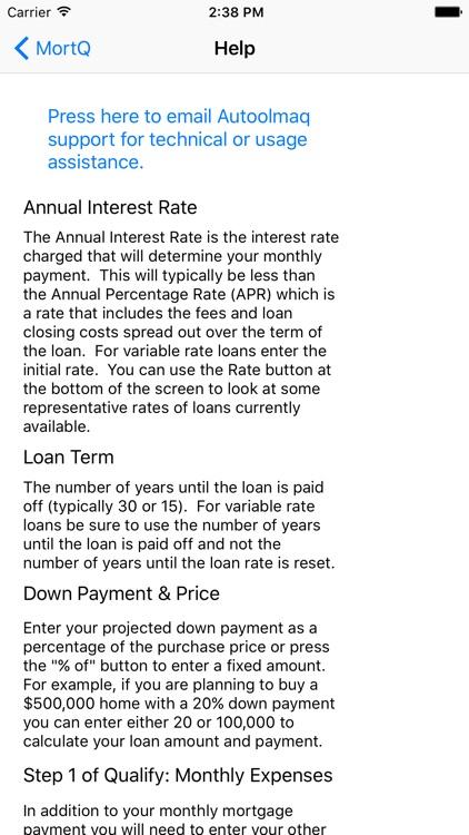 MortQ Mortgage Qualifier screenshot-4