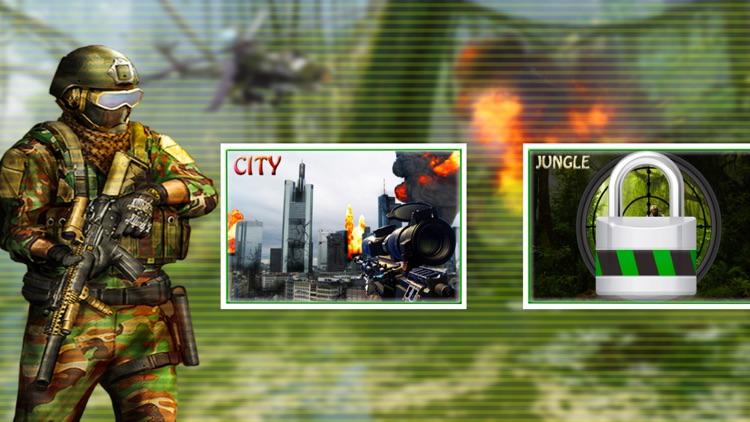 Real City Sniper War FPS Shoot screenshot-4