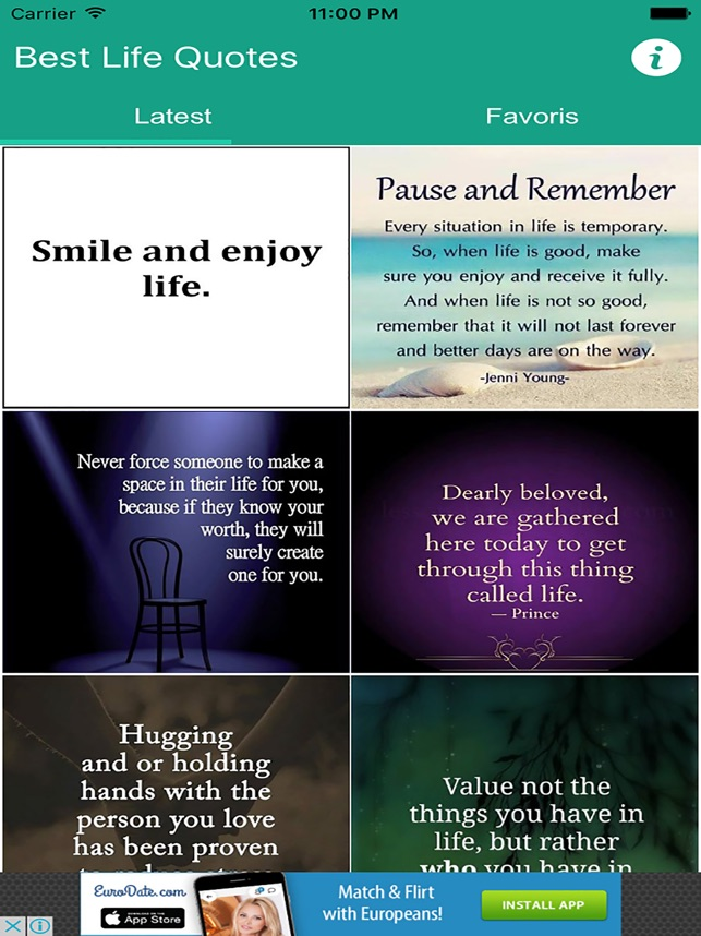 Best Life Quotes On The App Store