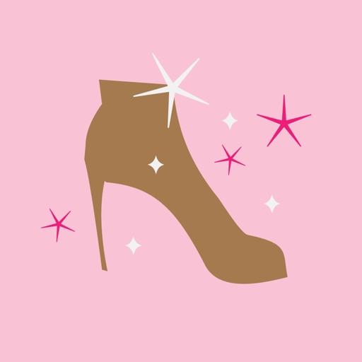 Glitter Girl animated Stickers