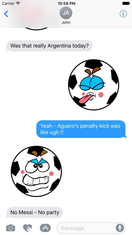 Soccer-Football  emojis express yourself