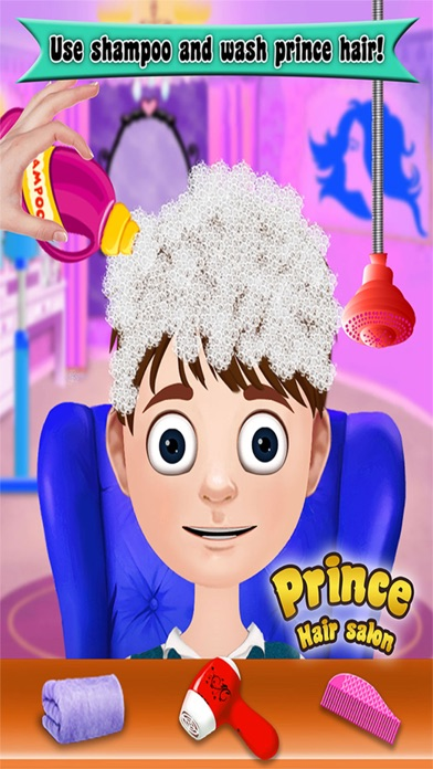 Prince Hair Salon: Hair salon games for girls-1