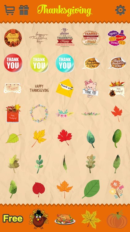 Thanksgiving Day Emoji Pro - Holiday Emoticon Stickers for Messages & Greetings screenshot-4