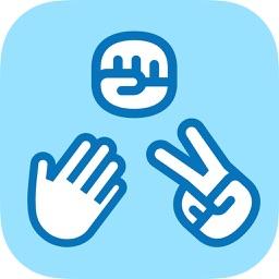 Rock paper scissors - best stickers game, free RPS