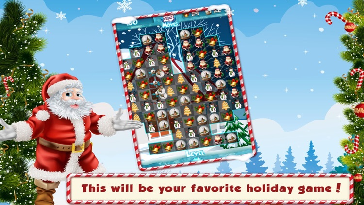 Match 3 Christmas Theme New Free Match Three Game screenshot-1