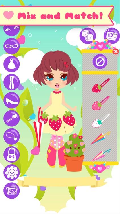Lil' Cuties Dress Up Game for Girls - Street Fashion Style screenshot-3