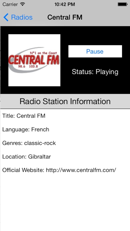 Gibraltar Radio Live Player screenshot-3