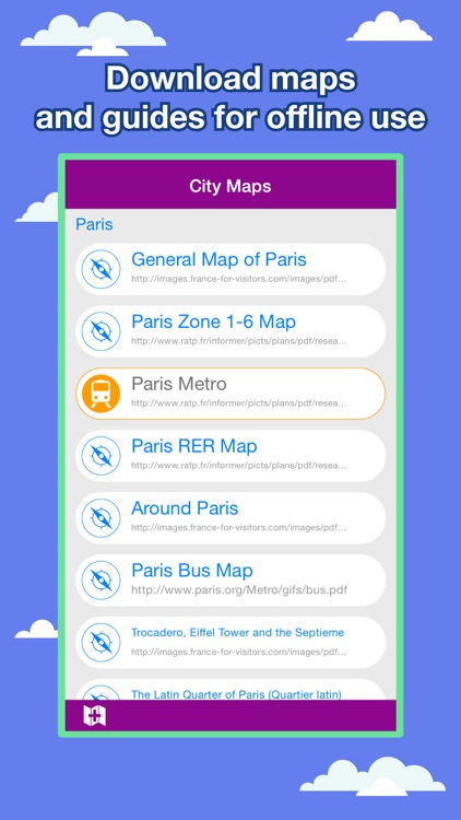 Paris City Maps - Discover PAR with Metro & Bus