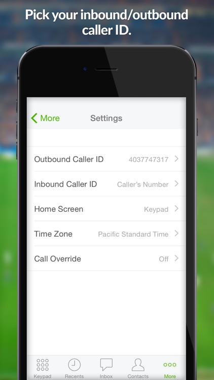 eVoice – business phone number