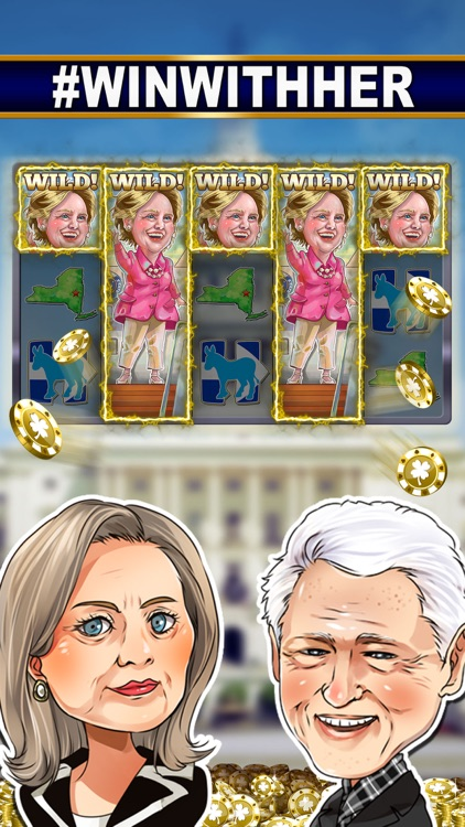 SLOTS: TRUMP vs. HILLARY CLINTON Free Slot Games screenshot-2