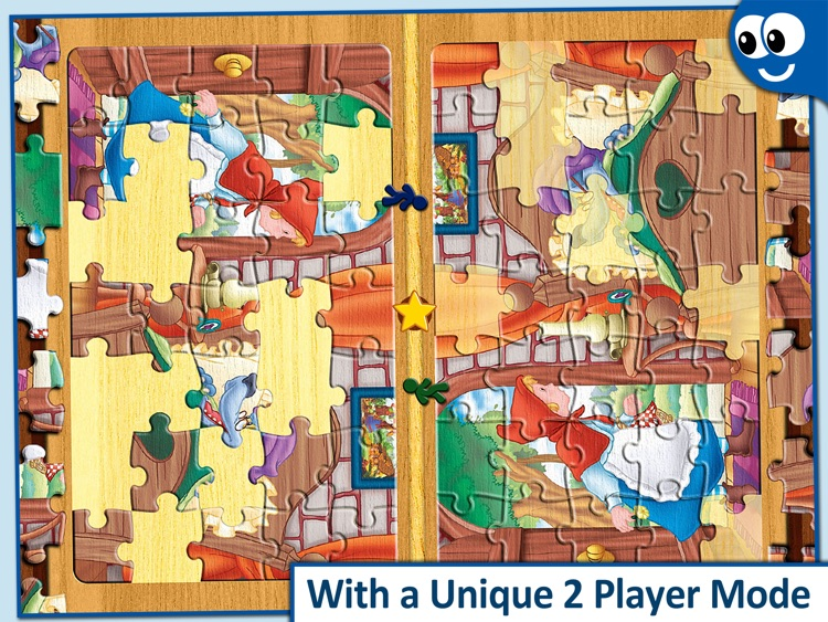 Kids Puzzles 4+: Jigsaw Puzzle School Learning Game for Preschoolers and Toddlers to Develop Concentration and Problem Solving Skills