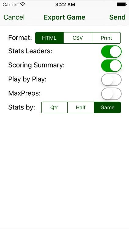 iTouchdown Football Scoring screenshot-4