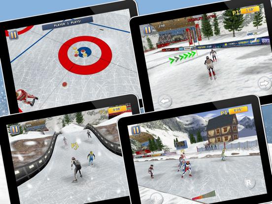 Athletics 2: Winter Sports Pro Screenshots