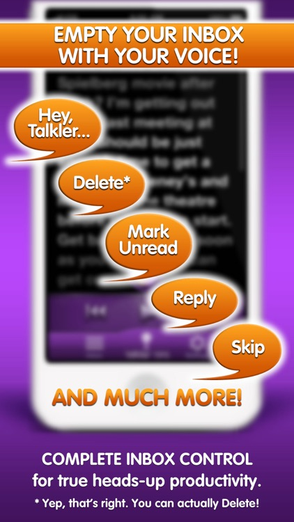 Talkler - Email for your Ears screenshot-4