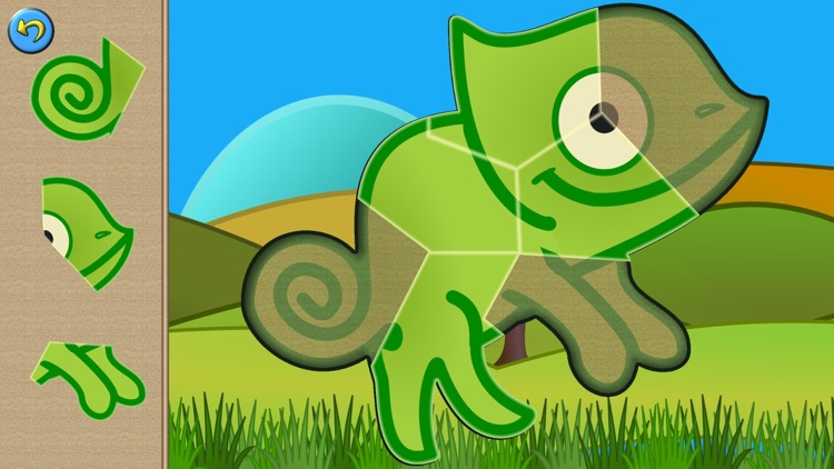 My baby first dino: dinosaur puzzle game for kids screenshot-3