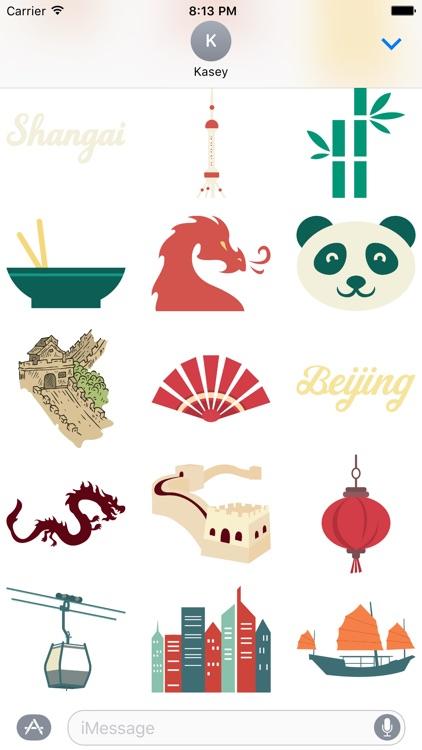 China Sticker Pack