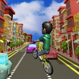 Subway Rider Racing in Bike