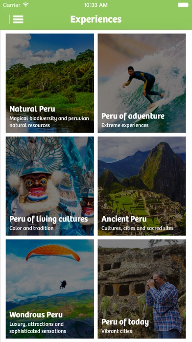 Peru Travel app image