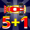 Math Drill Racing Flash Cards Icon