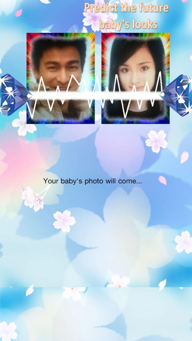 Predict the future baby's looks