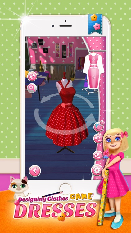 Designing Clothes Game For Girl S Fashion Salon By Nenad Cvetkovic