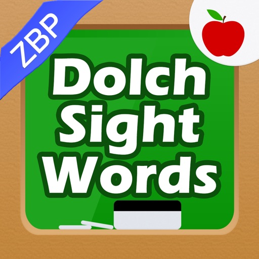 Dolch Sight Words Kids Flashcards & School Letter Writer ZBP iOS App
