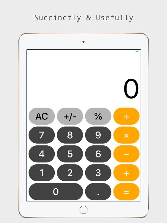 Calc Air - Calculator for iPad