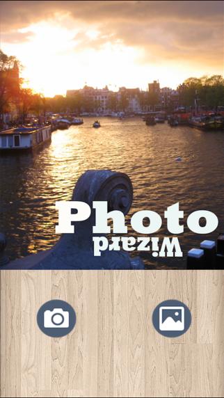 Photo Wizard - Easy photo editor & share