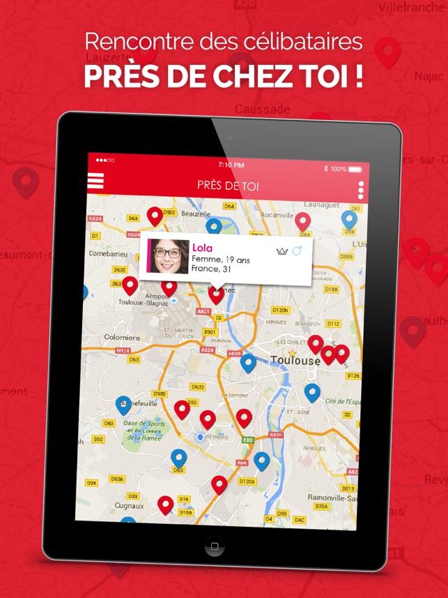 La Dépêche Tchat   Rencontre des célibataires dans l App Store f2edabfb993b