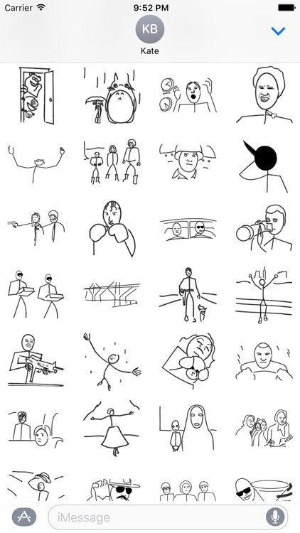 Stick Figure Movie - Stickers screenshot-3