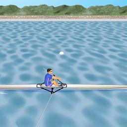 Cardiac Coherence Biofeedback : Rowing