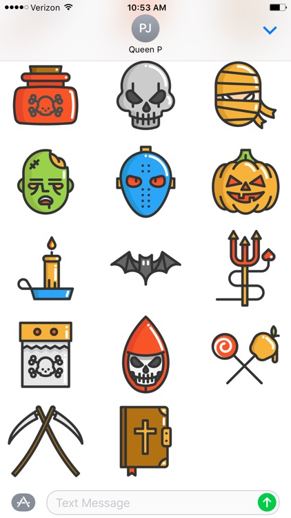 Fun Halloween Stickers screenshot-2