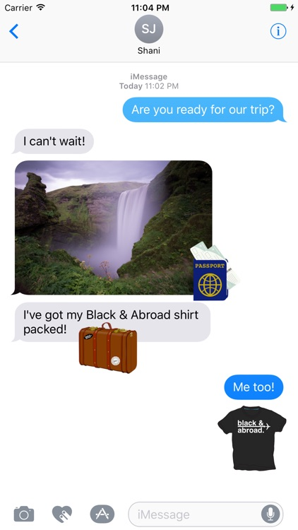 Black & Abroad Sticker Pack