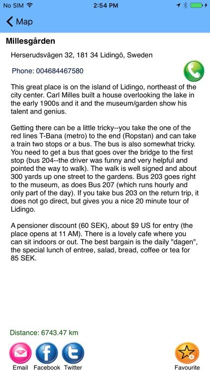 Stockholm Guide - Totally Offline screenshot-3
