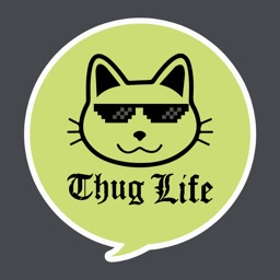 ThugLife Stickers for iMessage