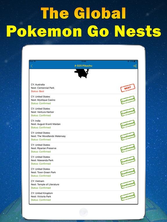 Nest Finder for Pokemon GO-Poke Sniper   App Price Drops