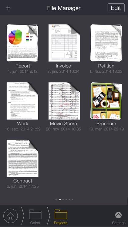 My Scans, best document to PDF scanner app