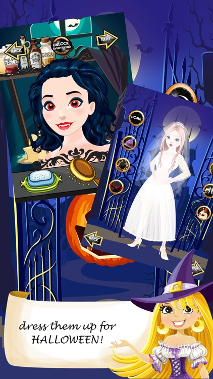 Halloween Salon Spa Makeover Doctor Game