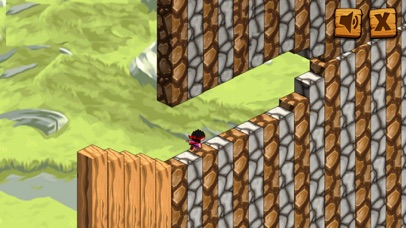 Running Ninja On The Cube Kids Game screenshot three