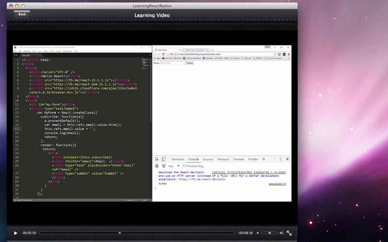 Learning React Redux screenshot 4