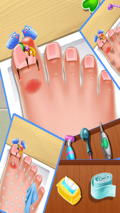 Nail doctor : Kids games toe surgery doctor games screenshot four